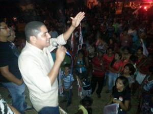 Em reta final de campanha Zé Inácio percorre vários municípios.