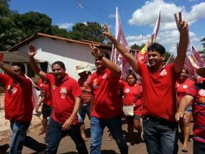 Campanha de Zé Inácio (PT) conquista a simpatia da população.