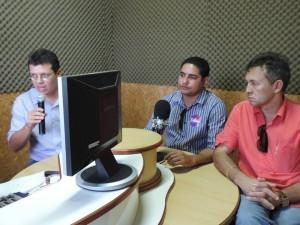 Na rádio 86,9 FM, Zé Inácio (PT) agradece a população pelos 2.040 votos obtidos em Sítio Novo.