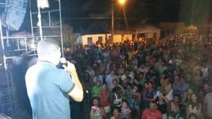 Eleito deputado estadual Zé Inácio agradece eleitores de Fortuna em grande festa.