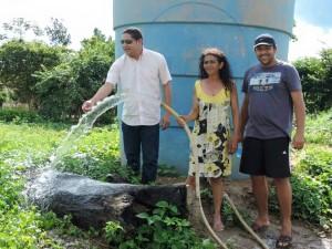 O deputado Zé Inácio prestigiou a festa de aniversário do assentamento Vavalândia