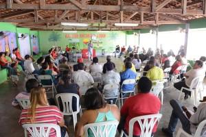 Zé Inácio participa do Encontro Municipal Preparatório no município de Chapadinha.