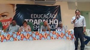 Deputado Zé Inácio fala do fortalecimento das Centrais Sindicais.