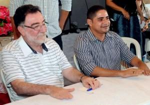 Deputado Zé Inácio e Patrus visitam comunidade quilombola em Itapecuru.
