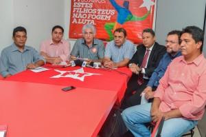 Deputado Zé Inácio e demais companheiros de partido oficializam apoio ao governo Flávio Dino.