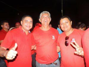 Dep. Zé Inácio, Zé Martins e Magal
