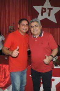 Zé Inácio (à direita) com Dr. Zé Francisco (à esquerda).